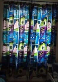Monsters inc curtains