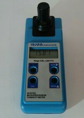 Hanna Instruments Hi 93703 Turbidity Meter Tested