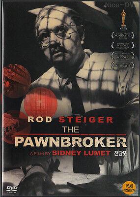The Pawnbroker (1964) DVD, NEW!! Rod Steiger, Sidney Lumet