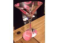 Lolita martini glass