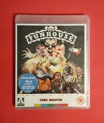The Funhouse Blu-ray Tobe Hooper Arrow Video Brand New And Sealed