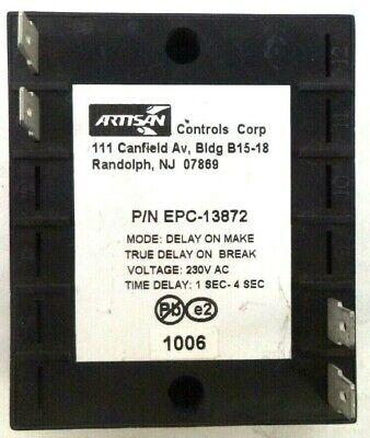 Artisan Controls Delay On-make Truebreak 1-4 Sec Time Delay Relay Epc-13872