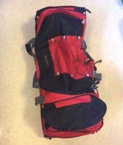 Expandable Wheeled Duffel Bag