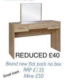 Brand new tilbury dressing table