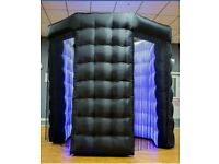 LED Octagon Photobooth for HIRE