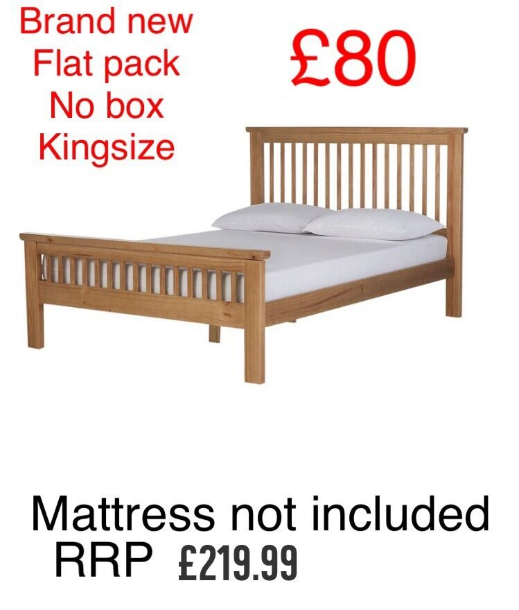 Brand new kingsize bed