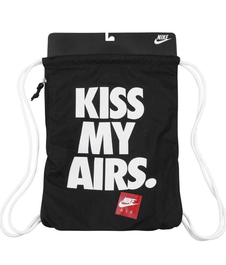 bc070580bd Brand New NIKE Kiss My Airs Black Bag