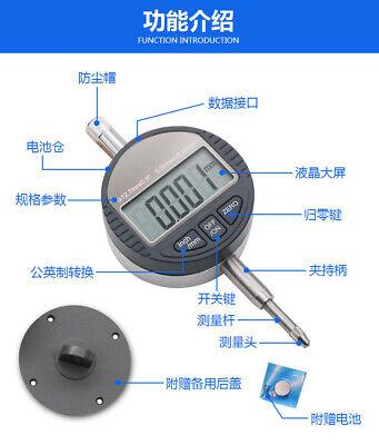 Digital Dial Indicator Micrometer 12.7mm 0.01mm Electronic Micrometro Measuring
