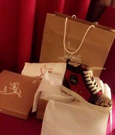 Christian Louboutin High Top Size 6