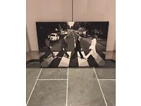 Iconic Beatles canvas