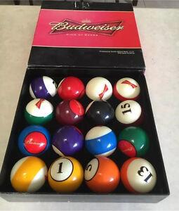 Budweiser billiard balls Bulleen Manningham Area Preview