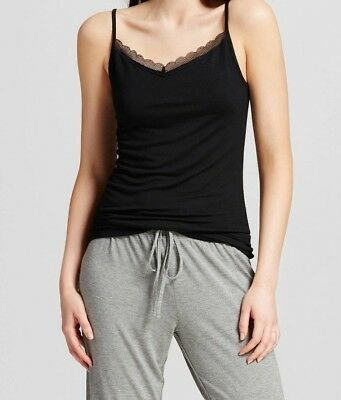 Modal Lace Trim Cami (NEW Gilligan & O'Malley Total Comfort Lace Trim Sleep Cami Camisole Top Sz 1X)