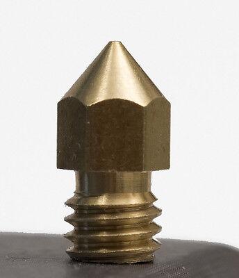 0.5mm Copper Extruder Nozzle Print Head Makerbot Mk8 Craftbot 3d Printer Hot End