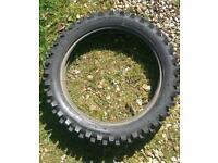 Motorcycle tyre green lane use