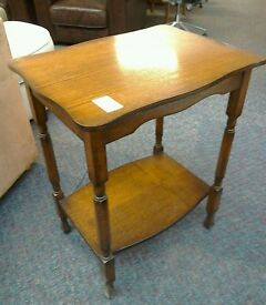 Wooden side table #26199 £20
