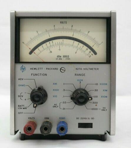 HP Hewlett Packard 427A Voltmeter  T5