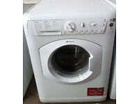 HOTPOINT AQUARIUS WASHING MACHINE 7KG 1400 SPIN SPEED - WITH GUARANTEE WILL DELIVER