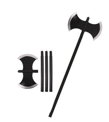 arrior Medieval Executioner Fancy Dress Halloween Prop 110CM (Halloween Viking Axe)