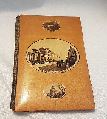 Victorian Mauchline Ware Notebook Notepad Cover Aberdeen