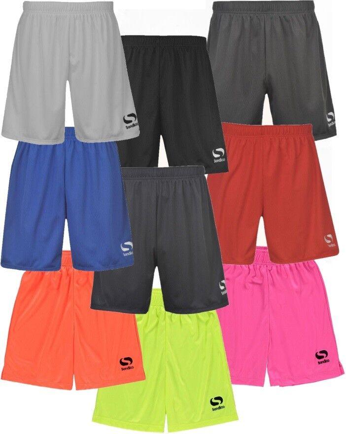 ✅ SONDICO Kinder Fussballhose kurze Hose Sporthose Trainingshose Fitness Shorts