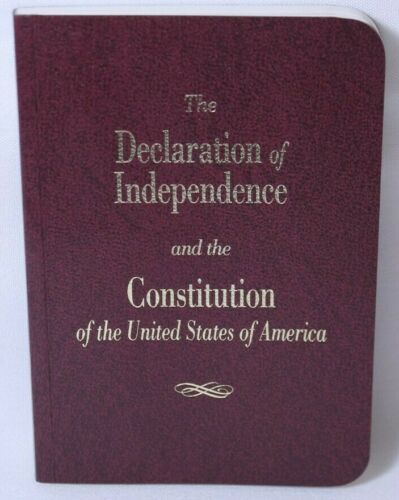 The Declaration Of Independence And The Constitution Of The United States Of...