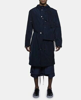 Craig Green Dark Navy (almost Black) workwear Parka size S but fits S to L