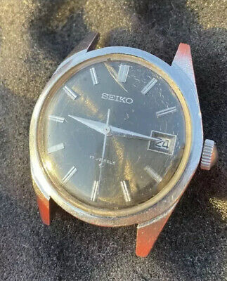 Seiko 6602-8040 Manual Wind Vintage Dress Watch