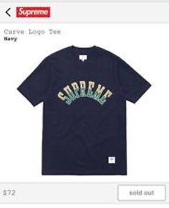 Supreme Arc curve logo size medium