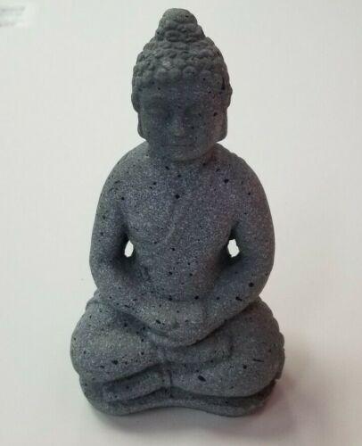 "Buddha Statue Table Garden Decor 7"" durable Cement - ceremonial - Buddhism"