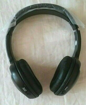 Audiovox Wireless Headphones Single Channel Infrared Not tested, turns on.    L5 Channel Infrared Wireless Headphones