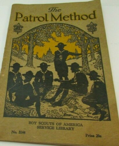 The Patrol Method BSA Service Library Patrol Helps for Scoutmasters 3144