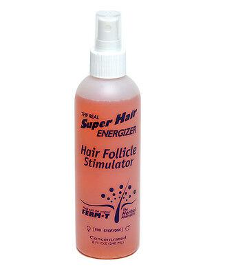 Super Hair Energizer Follicle Stimulator Spray Promote Healthy Hair Growth, 8 Oz