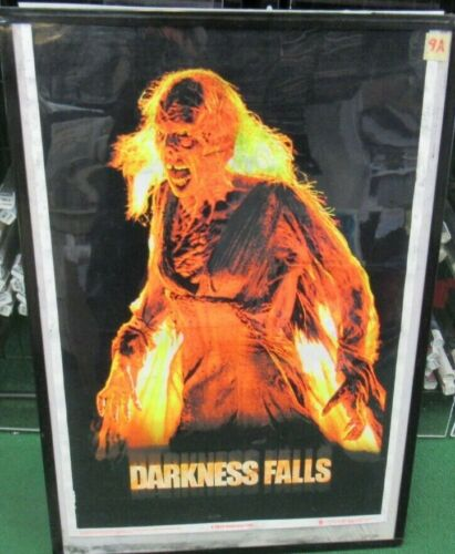 DARKNESS FALLS  BLACK LIGHT POSTER NEW 2003 RARE VINTAGE COLLECTIBLE COLUMBIA