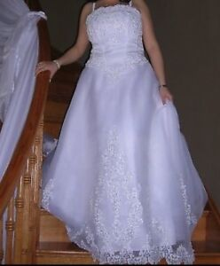 David's bridal wedding dress reduced 250