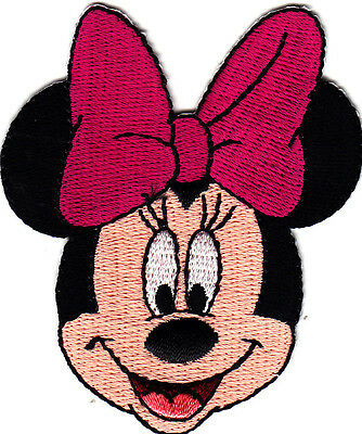 DISNEY MINNIE MOUSE Iron On Patch Movies TV Cartoons  Minnie Mouse Cartoons