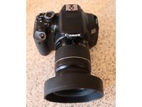 Canon EOS 650D DSLR Camera With Lens and accessories
