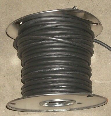 12 Awg 2 Conductor Sje00w E46194 Black Electrical Wire Galvanized Roll 16.52 Lbs