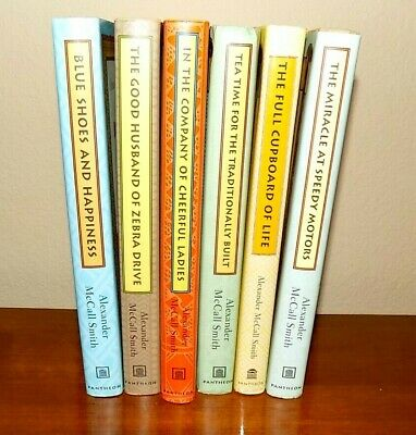 Alexander McCall Smith Ladies Detective Agency Lot of 6 Hardcover Books #5-10