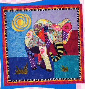 Applique Elephants | Pippa Quilts