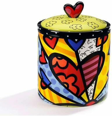 "Romero Britto #333317 ""A New Day"" Cookie Jar"