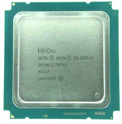 Intel Xeon E5-2697 v2 12 Core 2.7GHz SR19H / SR171 Processor w/Grease