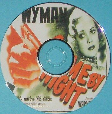 FILM NOIR 376: CRIME BY NIGHT (1944) William Clemens, Jane Wyman, Jerome Cowan