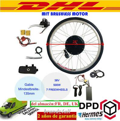 Kit de Conversión Motor Eléctrico para Bicicleta 36V 28