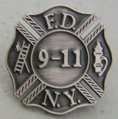 9/11 F.D.N.Y FDNY COMMEMORATIVE HAT / LAPEL PIN 20TH MEMORIAL YEAR NEW FD NY