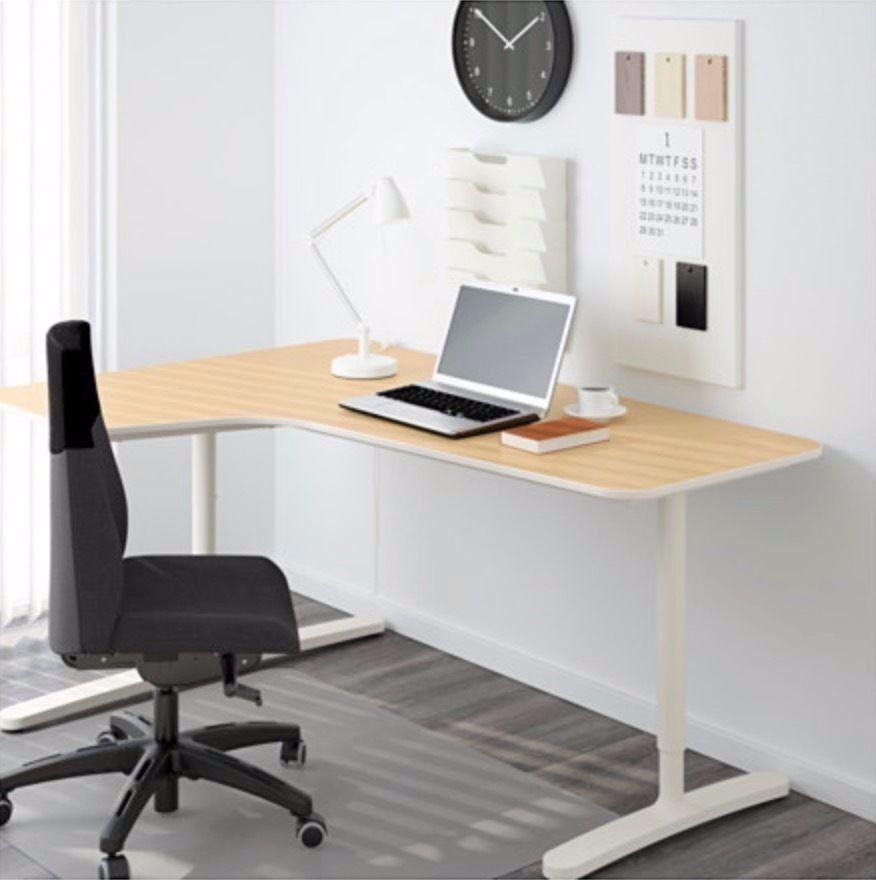 Ikea bekant corner desk in norwich norfolk gumtree - Ikea uk computer desk ...