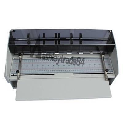 Electric Book Cover Creasing Machine Card Folding Paper Dotted Line Cutting 220v