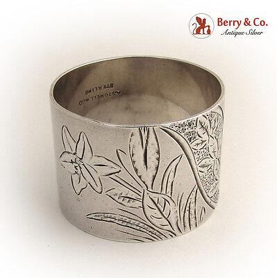 Aesthetic Napkin Ring 1880 Sterling Silver