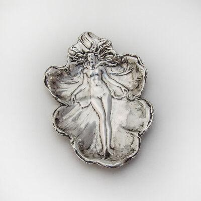 Art Nouveau Ash Tray Pin Tray Sterling Silver Gorham Silversmiths 1900