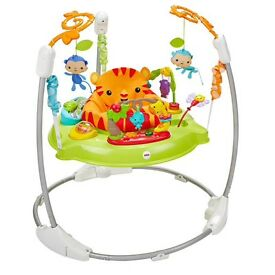 Fisherprice Roaring Rainforest Jumperoo - Like new