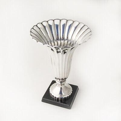 Fluted Trumpet Vase Sterling Silver K Uyeda